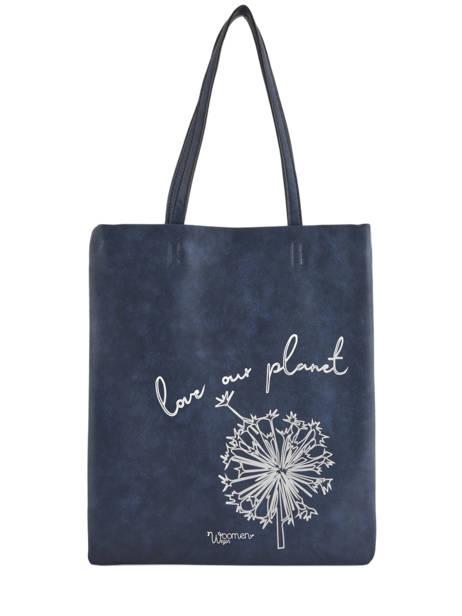 Shoppingtas Flat Bag Woomen Blauw flat bag WFLAT01