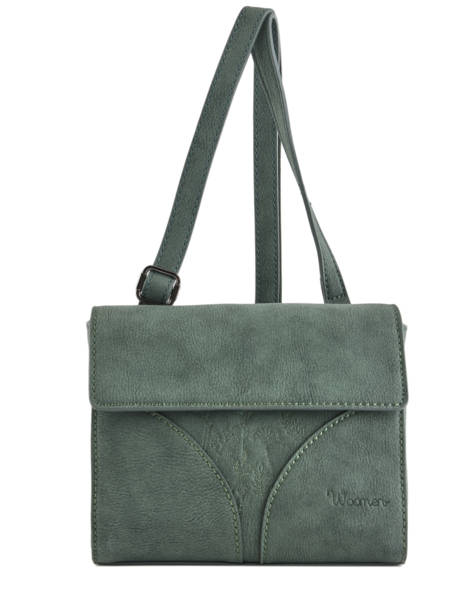 Shoulder Bag Hibiscus Woomen Green hibiscus WHIBI02
