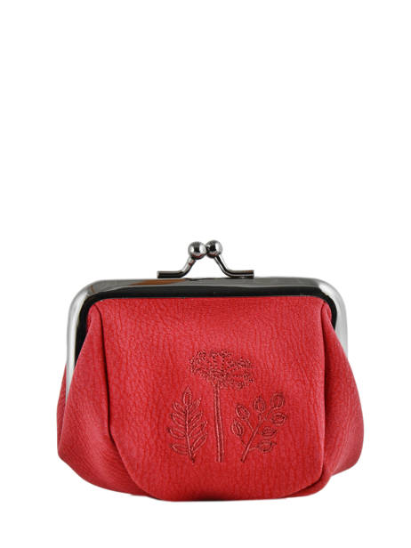 Purse Woomen Black hibiscus WHIBI94