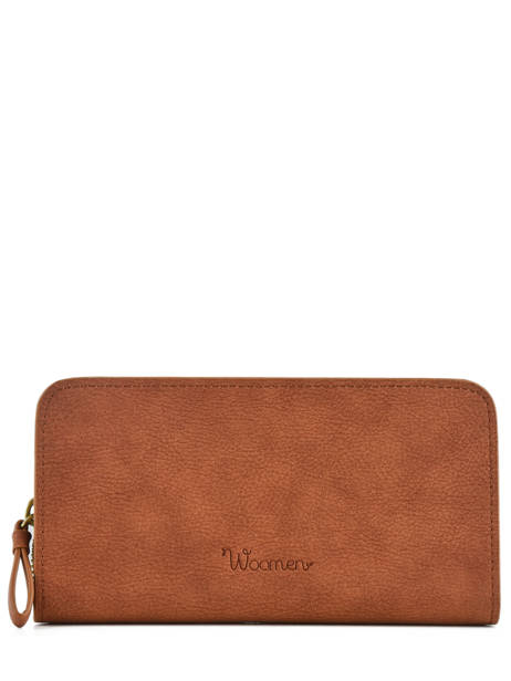Wallet Woomen Brown accacia WACAC91