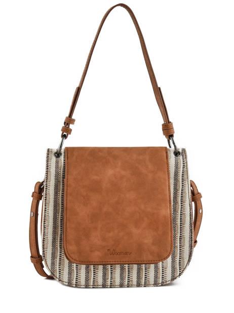 Crossbody Bag Azalee Woomen Brown azalee WAZAL01