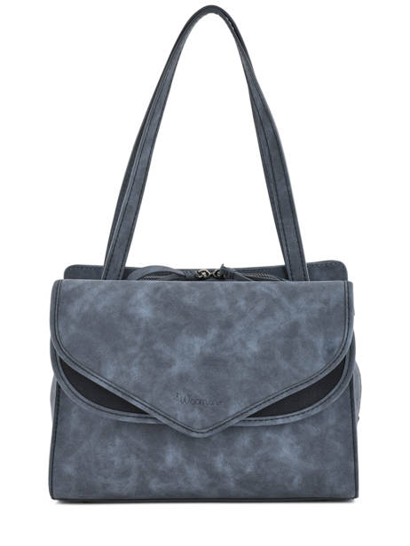 Shoulder Bag Pivoine Woomen Blue pivoine WPIVO04
