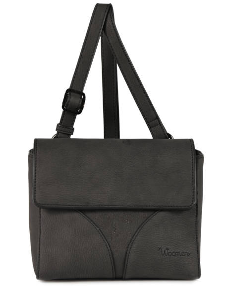 Shoulder Bag Hibiscus Woomen Black hibiscus WHIBI02