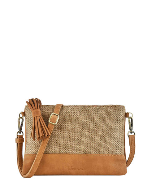 Shoulder Bag Abelia Woomen Brown abelia WABEL01