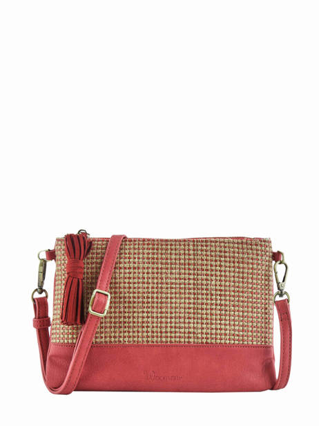 Shoulder Bag Abelia Woomen Red abelia WABEL01