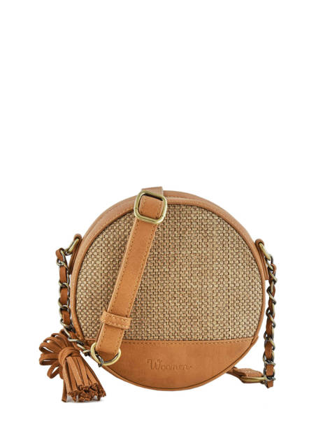 Shoulder Bag Abelia Woomen Brown abelia WABEL02