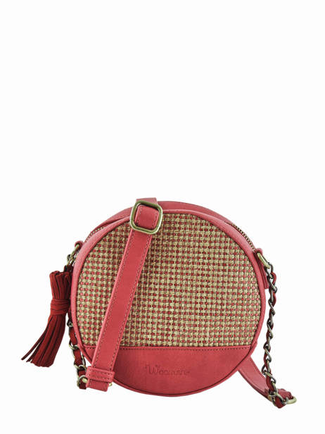 Shoulder Bag Abelia Woomen Red abelia WABEL02