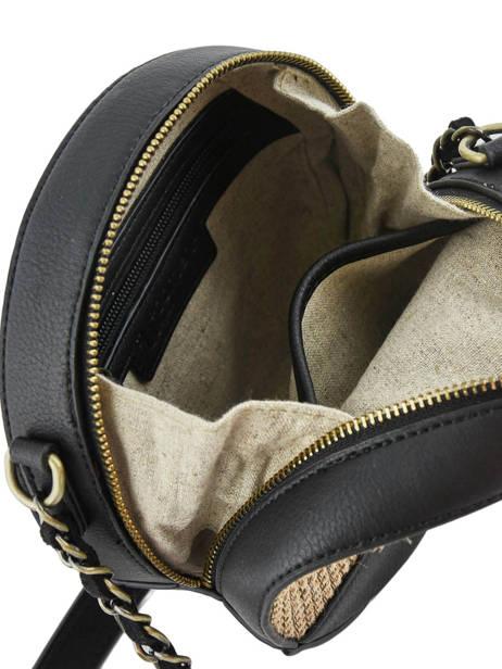 Shoulder Bag Abelia Woomen Black abelia WABEL02 other view 4