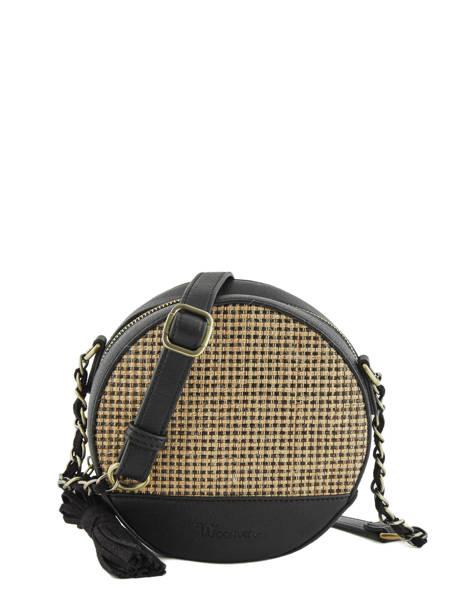 Shoulder Bag Abelia Woomen Black abelia WABEL02
