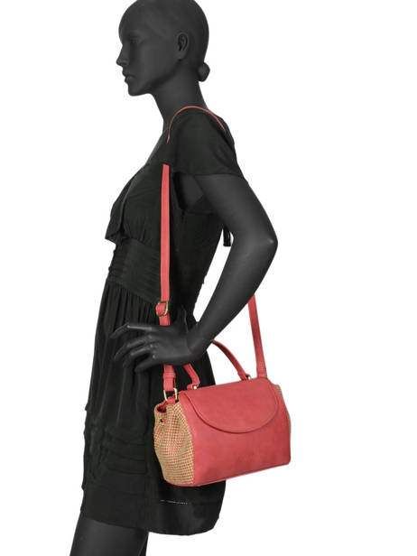 Crossbody Bag Abelia Woomen Red abelia WABEL03 other view 2