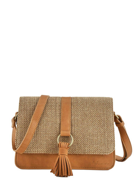 Shoulder Bag Abelia Woomen Brown abelia WABEL04