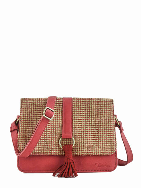 Shoulder Bag Abelia Woomen Red abelia WABEL04