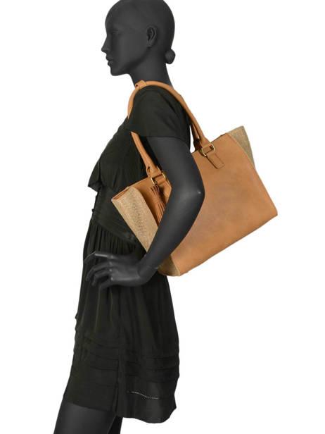 Shoulder Bag Abelia Woomen Brown abelia WABEL05 other view 2