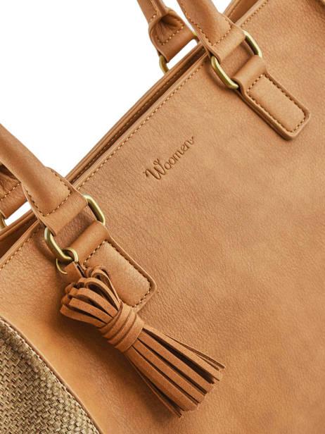 Shoulder Bag Abelia Woomen Brown abelia WABEL05 other view 1