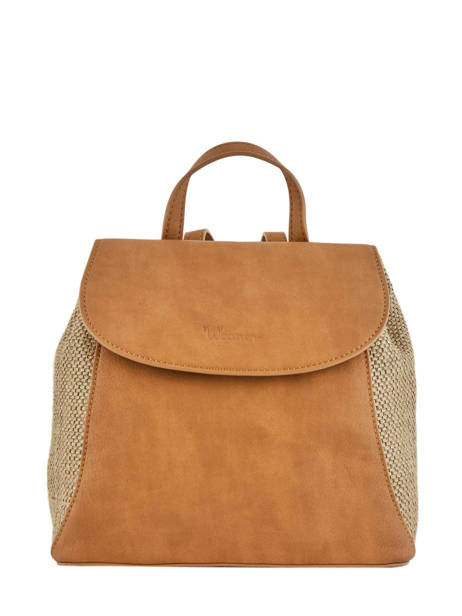Backpack Woomen Brown abelia WABEL06