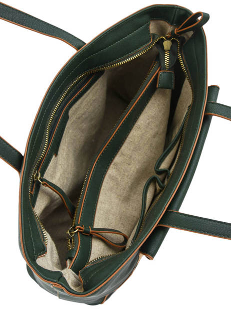 Shoulder Bag Orchidee Woomen Green orchidee WORCH03 other view 4