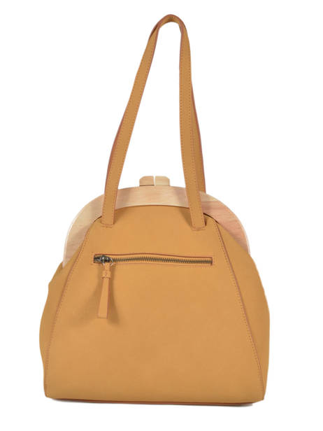 Shoulder Bag Iris Woomen Beige iris WIRIS03 other view 3