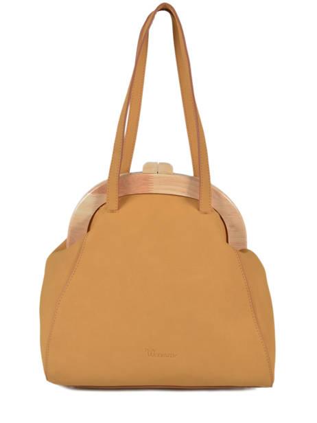 Sac Shopping Iris Woomen Jaune iris WIRIS03