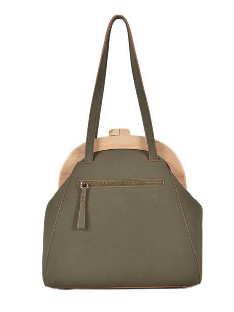 Shoulder Bag Iris Woomen Green iris WIRIS03 other view 4