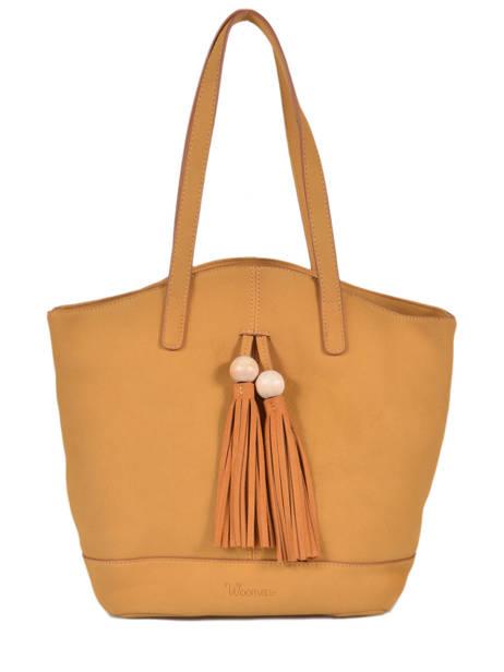 Sac Shopping Iris Woomen Jaune iris WIRIS05