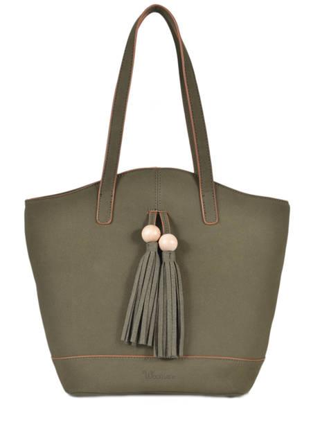 Shoulder Bag Iris Woomen Green iris WIRIS05