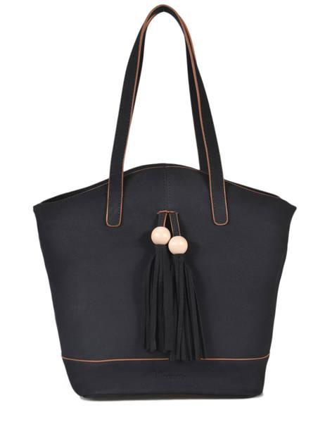 Sac Shopping Iris Woomen Noir iris WIRIS05