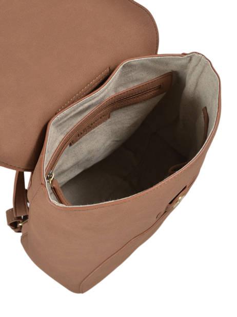 Backpack Iris Woomen Brown iris WIRIS06 other view 4
