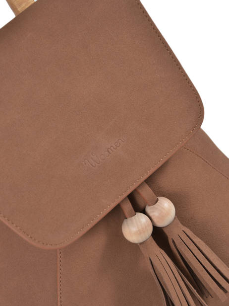 Backpack Iris Woomen Brown iris WIRIS06 other view 1