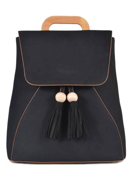 Backpack Iris Woomen Black iris WIRIS06