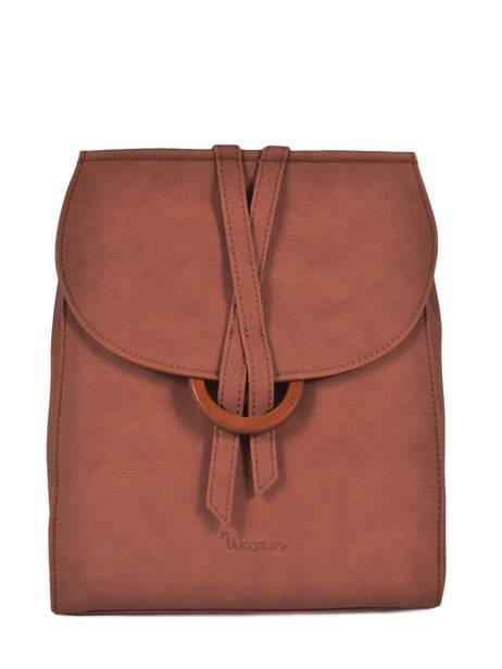 Backpack Acacia Woomen Brown accacia WACAC07