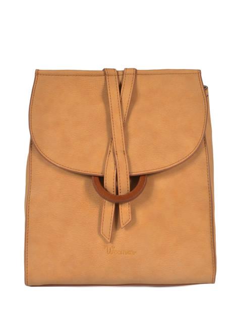 Backpack Acacia Woomen Beige accacia WACAC07