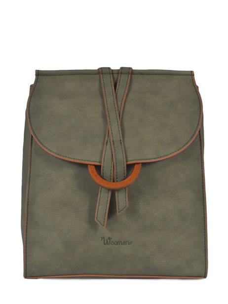 Backpack Acacia Woomen Green acacia WACAC07