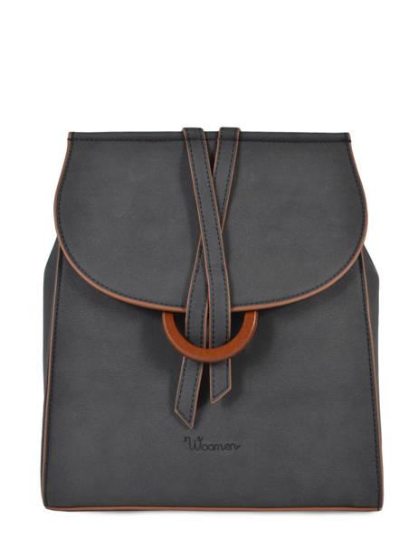 Backpack Acacia Woomen Black acacia WACAC07