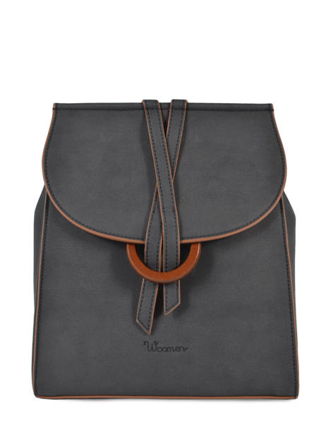 Backpack Acacia Woomen Black accacia WACAC07