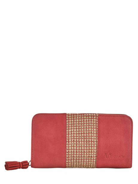Wallet Woomen Red abelia WABEL91