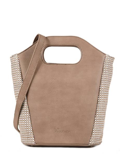 Shoulder Bag Abelia Woomen Beige abelia WABEL07