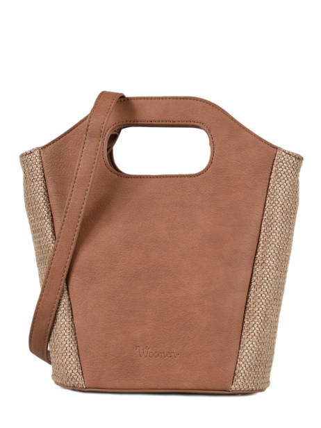 Shoulder Bag Abelia Woomen Brown abelia WABEL07