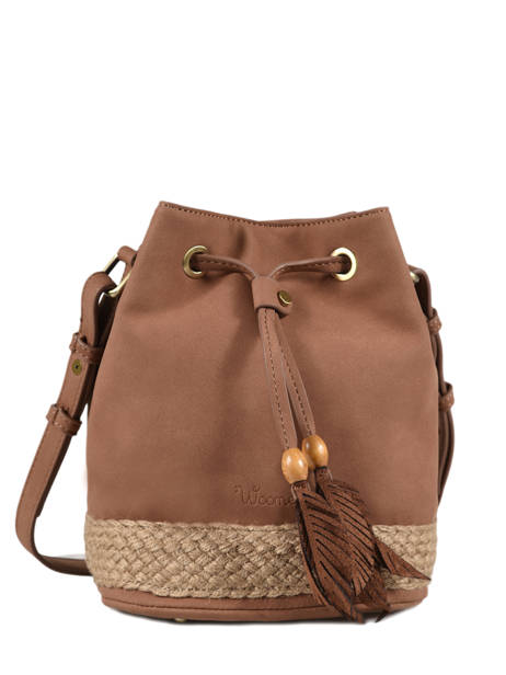 Crossbody Bag Anemone Woomen Brown anemone WANE01