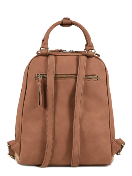 Backpack Woomen Brown anemone WANE02 other view 3