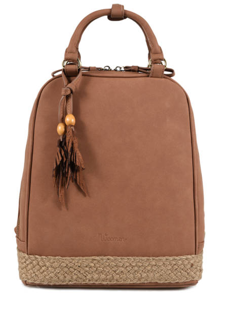 Backpack Woomen Brown anemone WANE02
