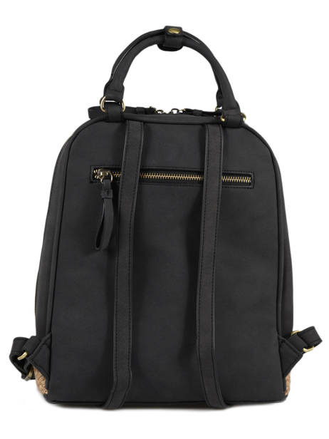 Backpack Woomen Black anemone WANE02 other view 4