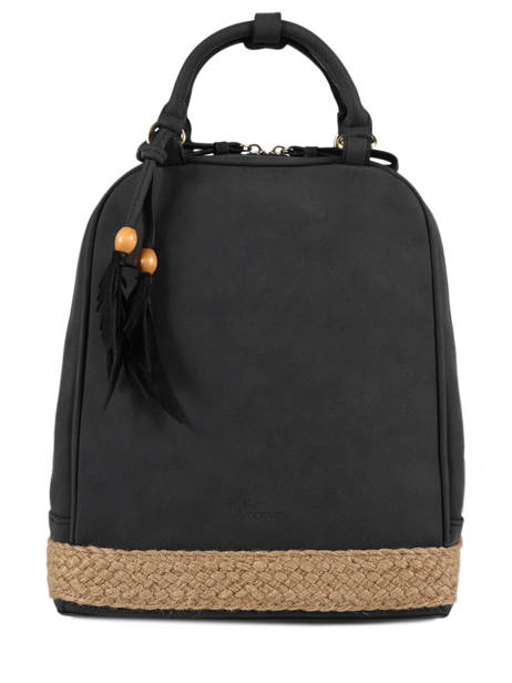 Backpack Woomen Black anemone WANE02