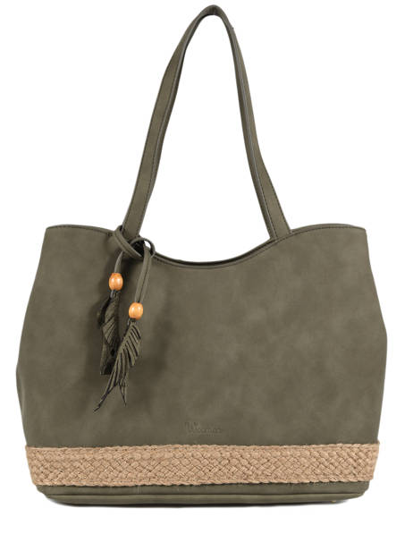 Shoulder Bag Anemone Woomen Green anemone WANE03