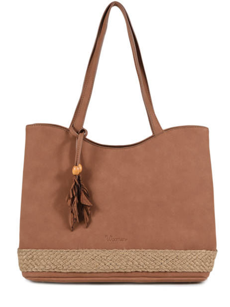 Shoulder Bag Anemone Woomen Brown anemone WANE03