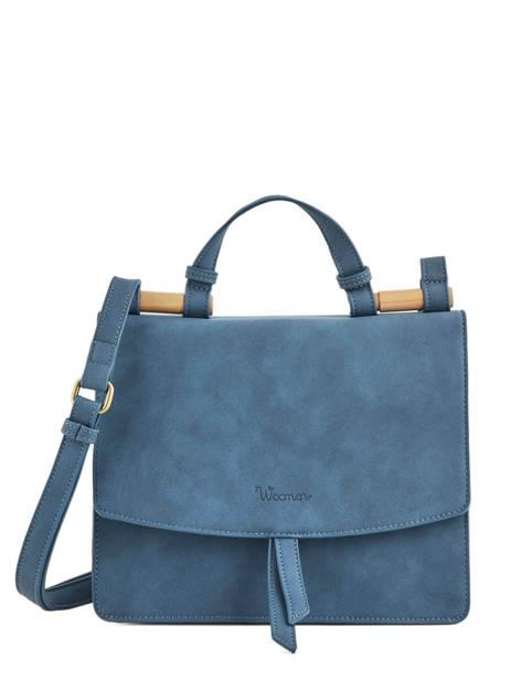 Shoulder Bag Coquelicot Woomen Blue coquelicot WCOQ01