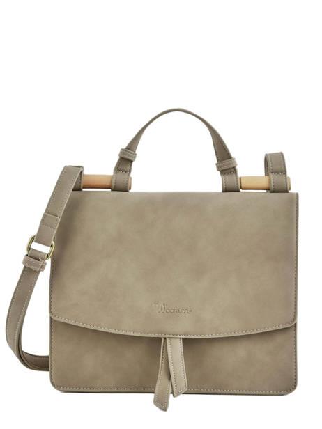Shoulder Bag Coquelicot Woomen Brown coquelicot WCOQ01