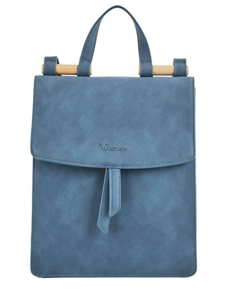 Backpack Coquelicot Woomen Blue coquelicot WCOQ02