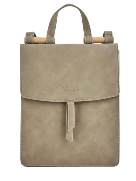Backpack Coquelicot Woomen Beige coquelicot WCOQ02