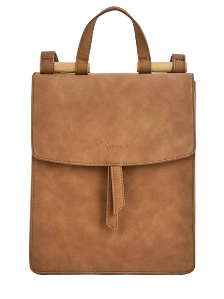 Backpack Coquelicot Woomen Brown coquelicot WCOQ02