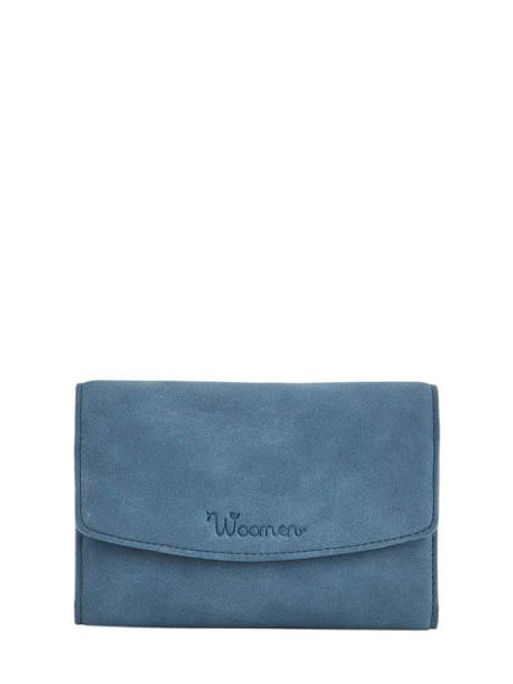 Coin Purse Coquelicot Woomen Blue coquelicot WCOQ91